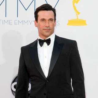 Jon Hamm in 64th Annual Primetime Emmy Awards - Arrivals
