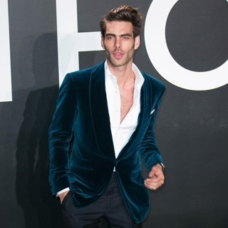 Jon Kortajarena in Tom Ford Autumn-Winter 2015 Womenswear Collection Presentation - Red Carpet Arrivals