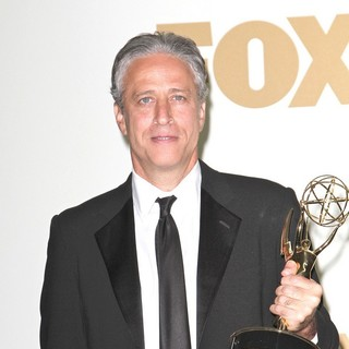 Jon Stewart in The 63rd Primetime Emmy Awards - Press Room - jon-stewart-63rd-primetime-emmy-awards-press-room-01
