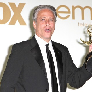 Jon Stewart in The 63rd Primetime Emmy Awards - Press Room - jon-stewart-63rd-primetime-emmy-awards-press-room-02
