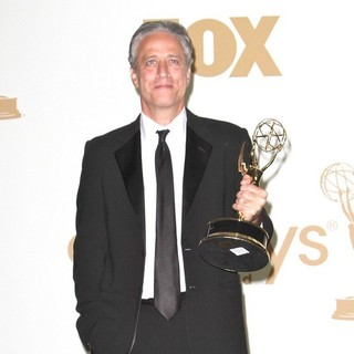 Jon Stewart in The 63rd Primetime Emmy Awards - Press Room - jon-stewart-63rd-primetime-emmy-awards-press-room-03