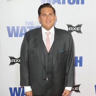 Jonah Hill in Los Angeles Premiere of The Watch