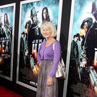 Helen Mirren in World Premiere of 'Jonah Hex'