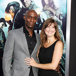 Lance Reddick in World Premiere of 'Jonah Hex'