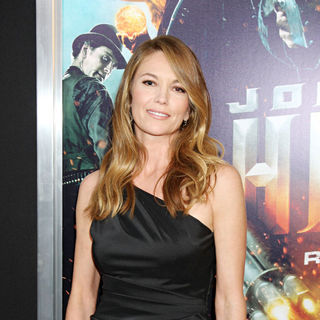 Diane Lane in World Premiere of 'Jonah Hex'