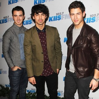 Jonas Brothers in KIIS FM's Jingle Ball 2012 - Arrivals