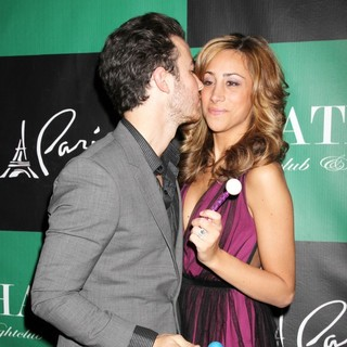 Kevin Jonas, Danielle Deleasa in Kevin Jonas Celebrates His Birthday