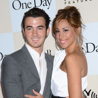 Kevin Jonas, Danielle Deleasa in New York Premiere of One Day