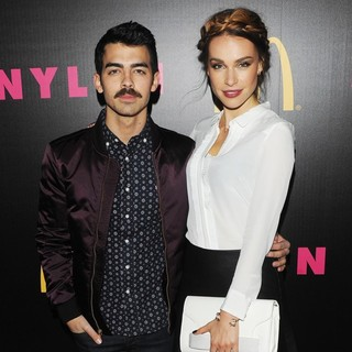 Joe Jonas, Blanda Eggenschwiler in NYLON Magazines December Issue Celebration Presented by McDONALDS