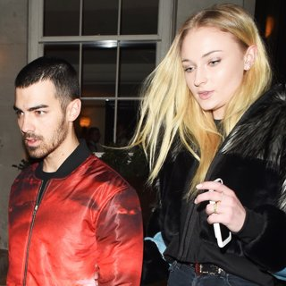 Joe Jonas and Sophie Turner Leaving 34 Restaurant Together