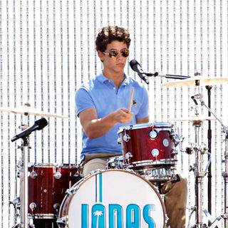 Nick Jonas, Jonas Brothers in The Jonas Brothers on the set of their new music video