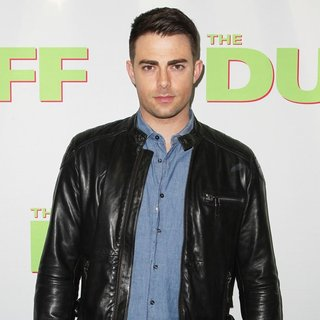 Jonathan Bennett in Los Angeles Fan Screening of The DUFF - Red Carpet Arrivals