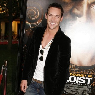 Jonathan Rhys-Meyers in Premiere of The Soloist - Arrivals