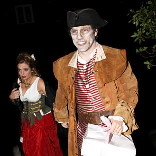 John Bishop in Jonathan Ross' Halloween Fancy Dress Party