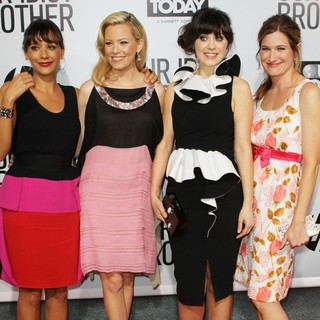 Rashida Jones, Elizabeth Banks, Zooey Deschanel, Kathryn Hahn in Our Idiot Brother - Los Angeles Premiere