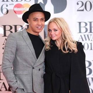 Jade Jones, Emma Bunton in The Brit Awards 2016 - Arrivals