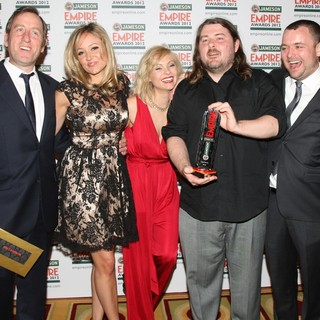 Claire Jones, MyAnna Buring, Ben Wheatley, Neil Maskell in The Empire Film Awards 2012 - Press Room