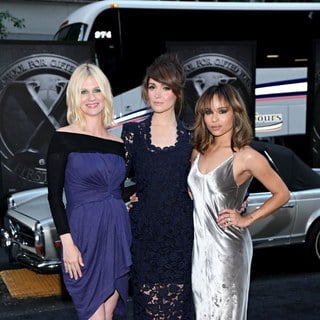 January Jones, Zoe Kravitz, Rose Byrne in The New York Premiere of 'X-Men: First Class'