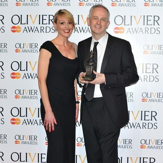 Suranne Jones, Dominic Cooke in The Olivier Awards 2013 - Press Room