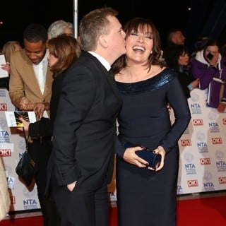 Aled Jones, Lorraine Kelly in National Television Awards 2013 - Arrivals