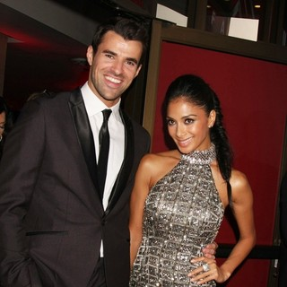 Steve Jones, Nicole Scherzinger in The X-Factor Premiere Screening - Arrivals