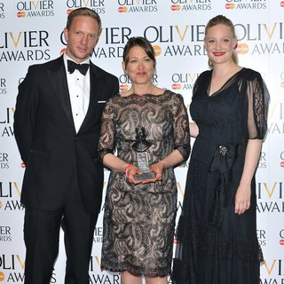 Rupert Penry-Jones, Nicola Walker, Romola Garai in The Olivier Awards 2013 - Press Room