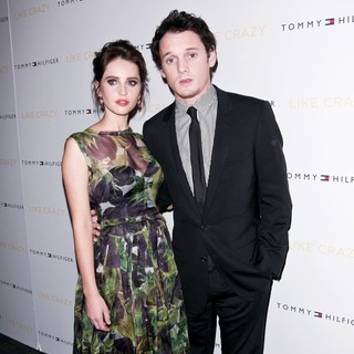 Felicity Jones, Anton Yelchin in The New York Premiere of Like Crazy