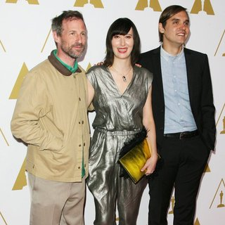 Spike Jonze, Karen O, William Butler in The 86th Oscars Nominees Luncheon - Arrivals