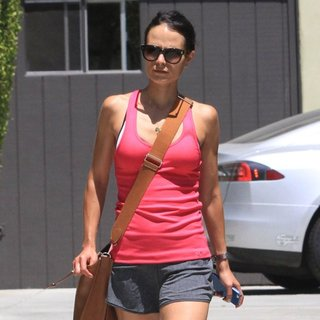 Jordana Brewster in Jordana Brewster Out and About in Hollywood