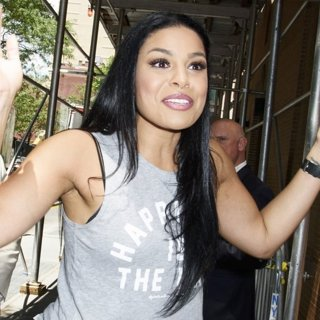 Jordin Sparks Seen Exiting The View