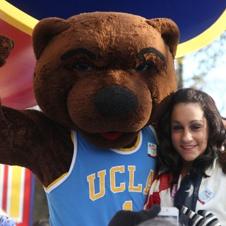 Jordyn Wieber in 86th Annual Macy's Thanksgiving Day Parade