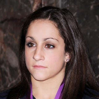 Jordyn Wieber in US Women's Gymnastics Team Attending A Lighting Ceremony