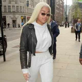 Jordyn Woods Out and About in London