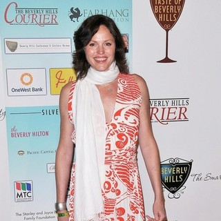 Jorja Fox in The Taste of Beverly Hills Party - Arrivals