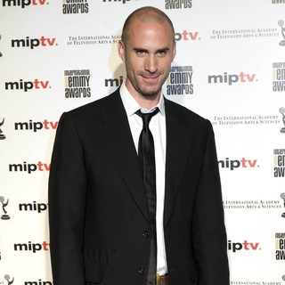 Joseph Fiennes in MIPTV 2011 - The International Television Entertainment Content Market - Red Carpet Arrivals