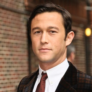 Joseph Gordon-Levitt in The Late Show with David Letterman - Arrivals