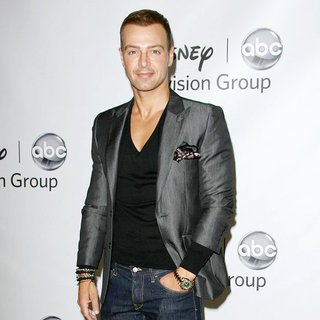 Joey Lawrence in 2011 Disney ABC Television Group Host Summer Press Tour