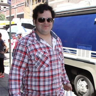 Josh Gad in The Broadway Musical Production of The Book of Mormon Treats Their Fans with A Free Performance
