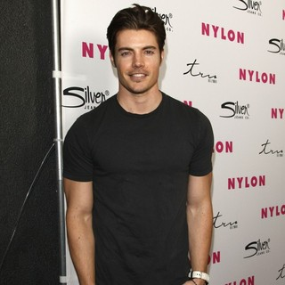 Josh Henderson in Nylon Magazine 12th Anniversary Issue Party with Sucker Punch Cast and April Cover Stars