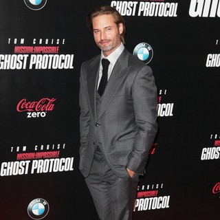 Josh Holloway in New York Premiere of Mission: Impossible Ghost Protocol