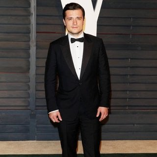 Josh Hutcherson in 2015 Vanity Fair Oscar Party - josh-hutcherson-2015-vanity-fair-oscar-party-02