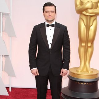 Josh Hutcherson in The 87th Annual Oscars - Red Carpet Arrivals - josh-hutcherson-87th-annual-oscars-02