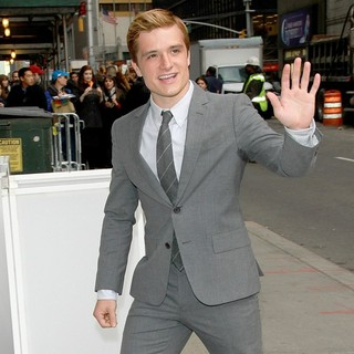 Josh Hutcherson in The Late Show with David Letterman - Arrivals