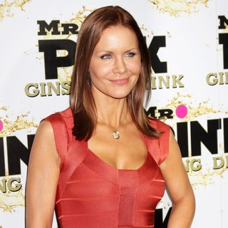 Josie Davis in Mr. Pink's Ginseng Energy Drink Launch - Arrivals