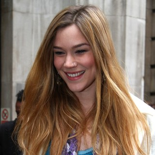 Joss Stone in Joss Stone Outside The BBC Radio Two Studios