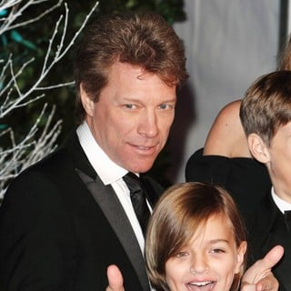 Jon Bon Jovi, Romeo Jon Bongiovi in Winter Whites Gala Dinner - Arrivals