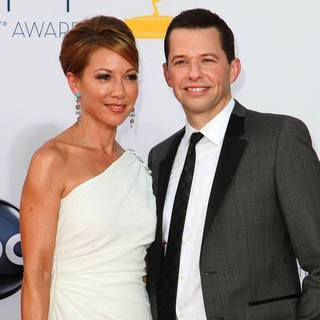 Lisa Joyner, Jon Cryer in 64th Annual Primetime Emmy Awards - Arrivals