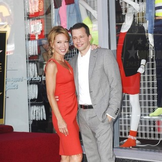 Lisa Joyner, Jon Cryer in Jon Cryer Is Honored with A Hollywood Star