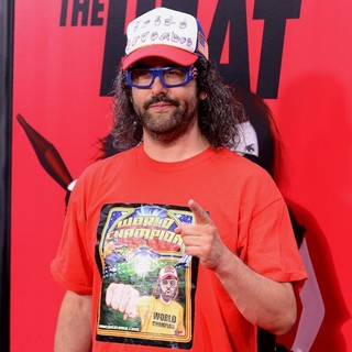 Judah Friedlander in New York Premiere of The Heat - Red Carpet Arrivals - judah-friedlander-premiere-the-heat-01