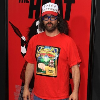Judah Friedlander in New York Premiere of The Heat - Red Carpet Arrivals - judah-friedlander-premiere-the-heat-04